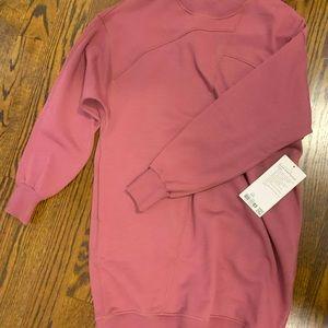 Lululemon sweater dress